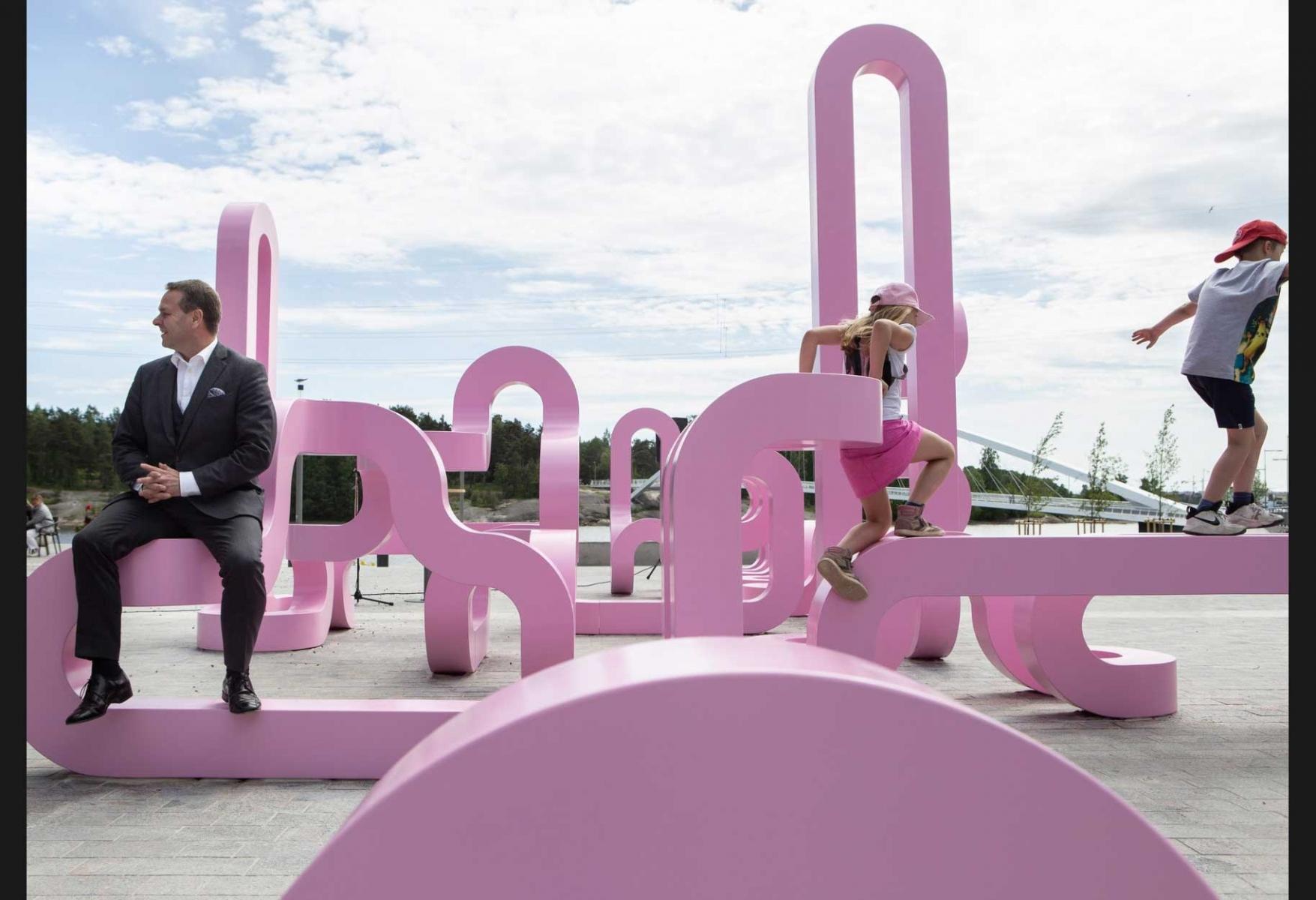 Publikt konstverk i Helsingfors